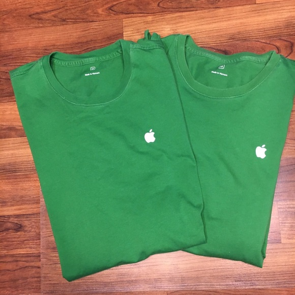 50d9c0f60 Shirts | Unisex Medium Apple Brand Green Earth Day | Poshmark